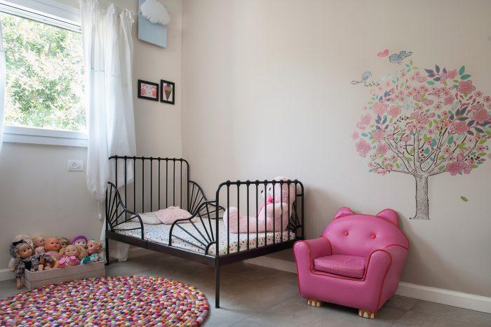 הרחבת דירה בתל אביב - חדר ילדים