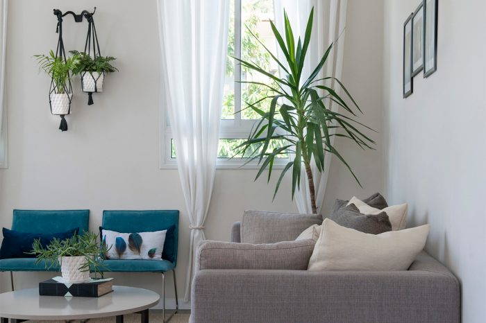 הרחבת דירה בתל אביב - סלון